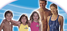 swimming specialists - Learn to Swim Polyester Swim Suits and Caps